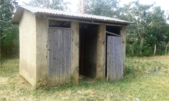 Old Latrines being replaced 2017